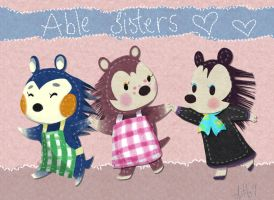 Able Sisters by ditto9