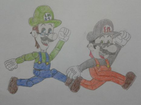 Request: Me and Coolmario832 by luigihorror64