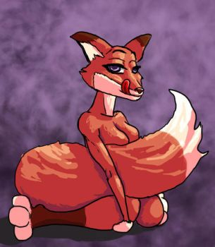 Foxy lady by Fetish-Drawer-2