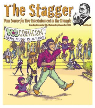 The Stagger 'NC Comicon' Cover by thedigitalgeorge