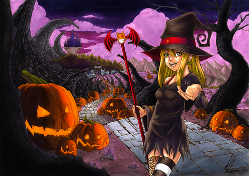 Witches Parade (Color) by kurisart