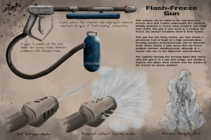Flash Freeze Gun by Lygon