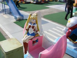 Ride with Sailor Moon by NERVchild