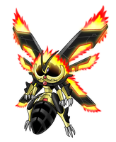 045 - Flyder Flame by LuRocha