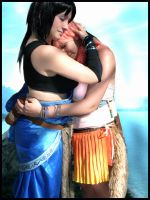 Fang and Vanille - FFXIII by Thara-Wood