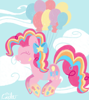 Rainbow Power Pinkie Pie by mtfc1029