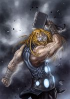 God of Thunder by StriderDen