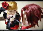 Umineko Cosplay: Submit to me, BATTLER by Redustrial-Ruin