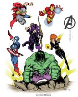 A is for Avengers by mdavidct