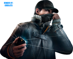 Watch Dogs Render by Kirikatu