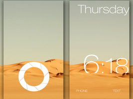 Desert theme with Lockscreen by milosstankostanko
