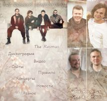 Spring web-design for TheRasmus Generation Fanclub by WooHooGirl