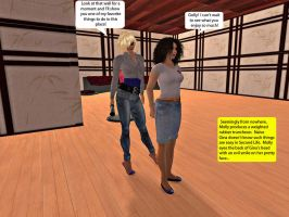 Molly and Gina in Second Life 2 by MollyFootman