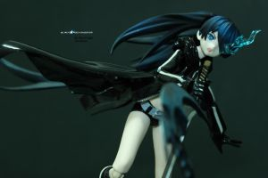 Black Rock Shooter FreeStyle by RaynFudge