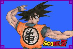 Son Goku by Amidazoro