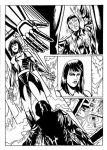 Minerva project page 8 black and white by simon-artist