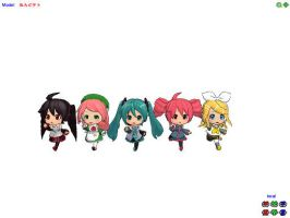 Nendoroid's Girls by Chelsea701