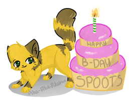 Happy Birthday Spoots! by Pika-Pika-Pikahu