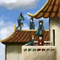Atla: Visiting the Fire Nation by sqbr