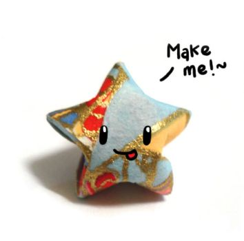 Another Paper Star Tutorial by HanaClayWorks