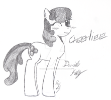 Cheerilee Request by Dann-The-Yoshi