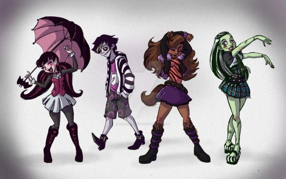 Monster High! by Chocolerian