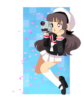 Camera Girl by AninhaT-T