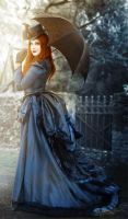 Lady in Blue by MADmoiselleMeli