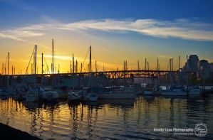 Sunset at the Dock by sweetcivic