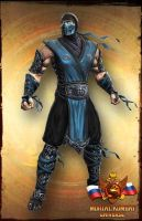 Sub-Zero's Primary Costume by Airachnid1301