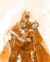 Batman and Catwoman by Eridanis-Requiem