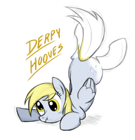 Sketchy Derpy T-shirt by Natsu714