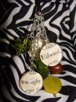 Edward Cullen Forks Bag Charm by bitemekthx