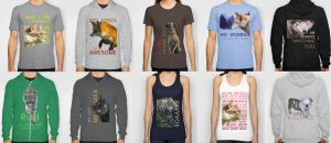 Clothes with my designs - Available by Nojjesz