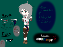 Kamu Reference Sheet by The-Insane-Puppeteer