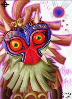 Skull Kid n Majora s Mask by Himeviti
