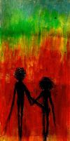 Hand in hand in the other side by QuietRevolution
