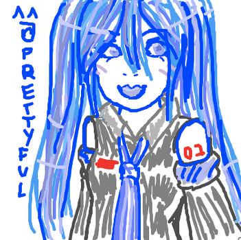 IScribble Miku by XxNutritionFactsxX