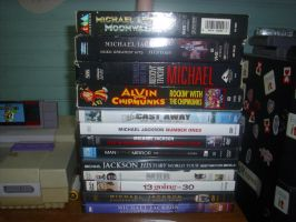 my mj dvds and videos tape by filmcity