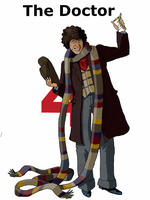The Fourth Doctor by Mr-Saxon