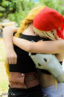 FullMetal Alchemist - Edward and Winry by jotaPeVaz