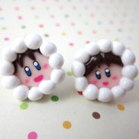Ice Climbers earrings by TrenoNights