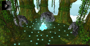 Crystal Jungle Clan/Pack area. by kidbay