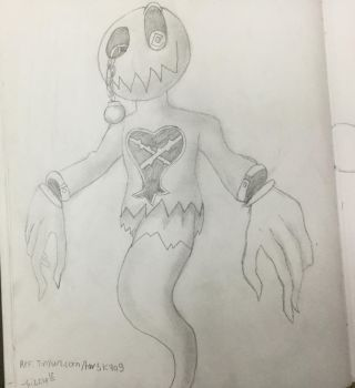 Searcher - heartless sketch by sizzlesizzle123