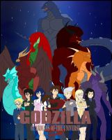 Godzilla Guardians of the Universe Cover by Pyrus-Leonidas