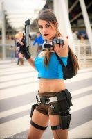 Lara Croft and the Guardian of Light - Romics 2014 by FuinurCroft