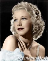 Ginger Rogers by M3ment0M0ri
