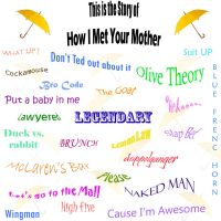 HIMYM phrases by quev