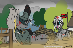 MLP: Victory on the War by SrMario