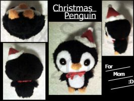 The Christmas Penguin Teanie Beanie by Noleetida